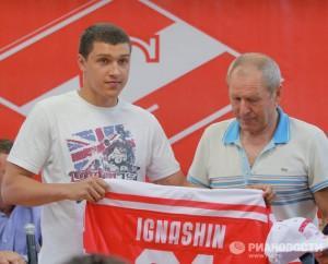 Денис Игнашин стал 61 номером «Спартака»