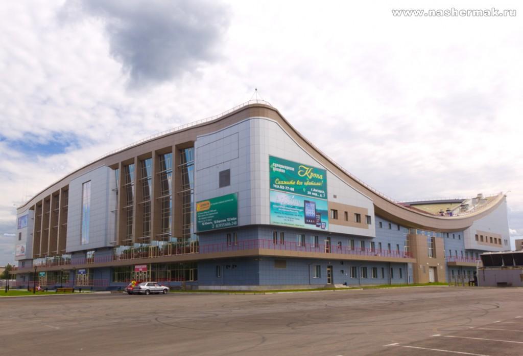 Реконструкция арены «Ермак» продолжается