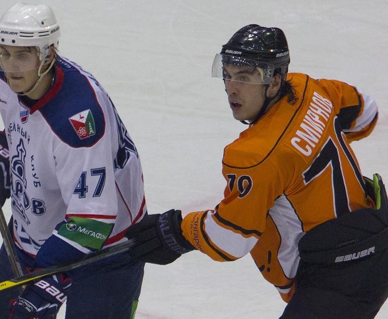 Роман Смирнов лучший защитник недели