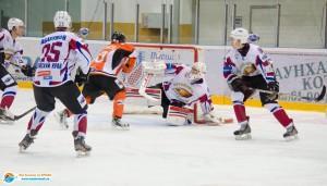 «Ангарский Ермак» — «Алтайские Беркуты» (матч 1) — 0:7