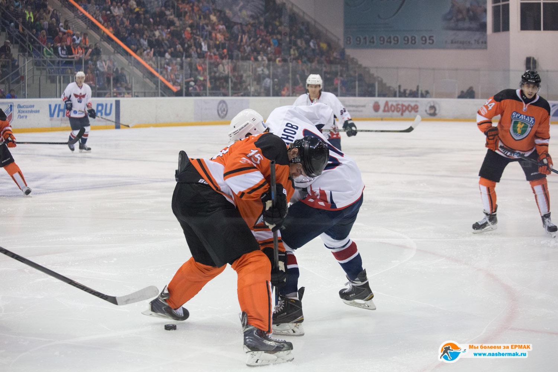 «Ермак» победил «Сокол» в первом матче сезона — 3:2 ШБ