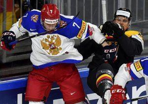 Сборная России обыграла Германию 6:3 на ЧМ 2017