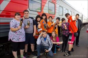 в дороге на красноярск