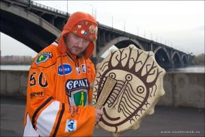 болельщик в оранжевом в красноярске