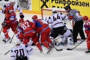 Россия сыграет с США в четвертьфинале ЧМ