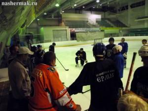 Хоккейный матч болельщиков с командой Ермак состоится в 18 часов, в субботу 24 августа