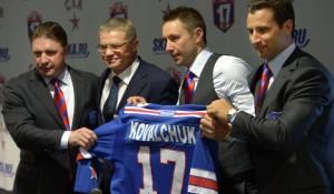 Илья Ковальчук представлен в качестве хоккеиста петербургского СКА