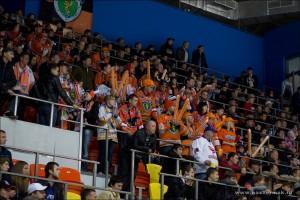 Болельщики Ермака в Красноярске