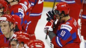 Сборная России проиграла команде Чехии в матче Евротура