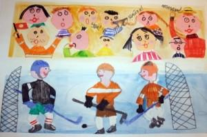 Конкурс детского ресурса «Нарисуй ВХЛ»