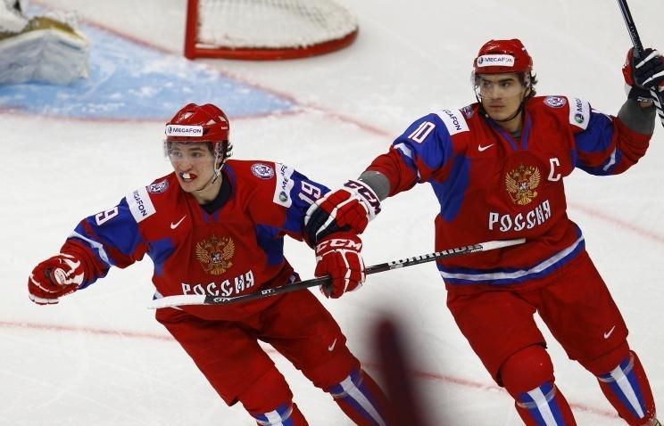 Сборная России одержала первую победу над канадцами
