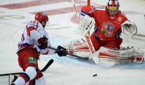 Сборная России по хоккею победила чехов на Кубке Карьяла