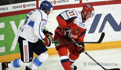 Россия проиграла Финляндии в первом матче Кубка Карьяла