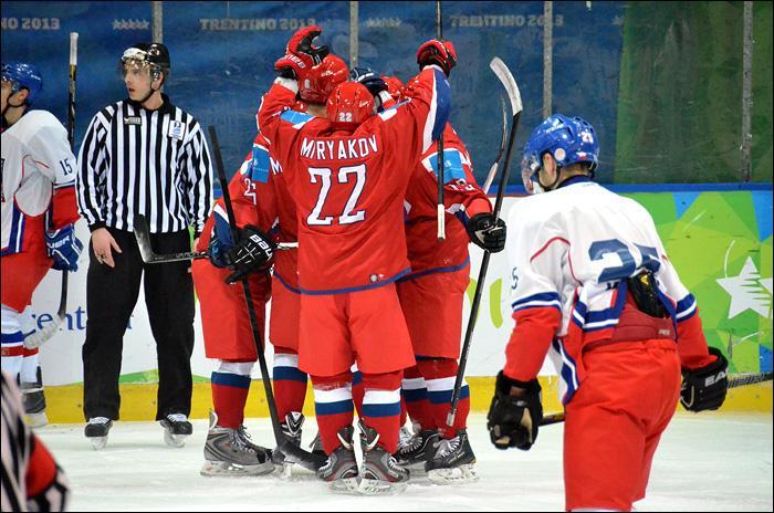 Чехия – Россия - 1:7