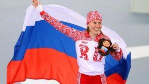 Российская конькобежка Ольга Гра