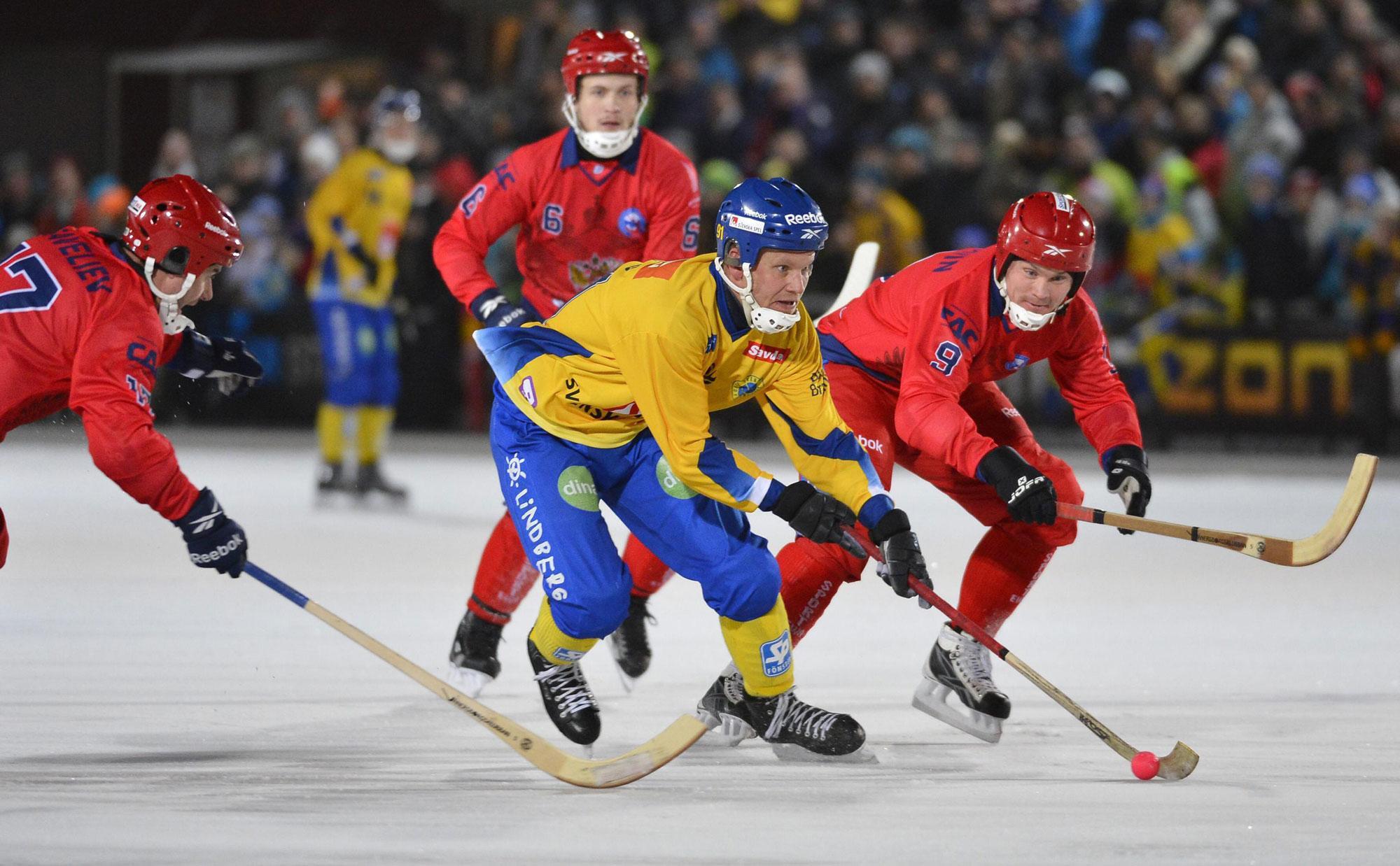 Россия стала восьмикратным чемпионом мира по хоккею с мячом.