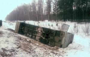 В Башкирии автобус с болельщиками «Торпедо» съехал в кювет, один человек погиб