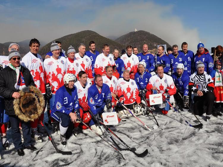 НХЛ на льду Байкала