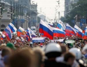 Болельщики сборных России и Белоруссии по хоккею вместе встретили День Победы в Минске