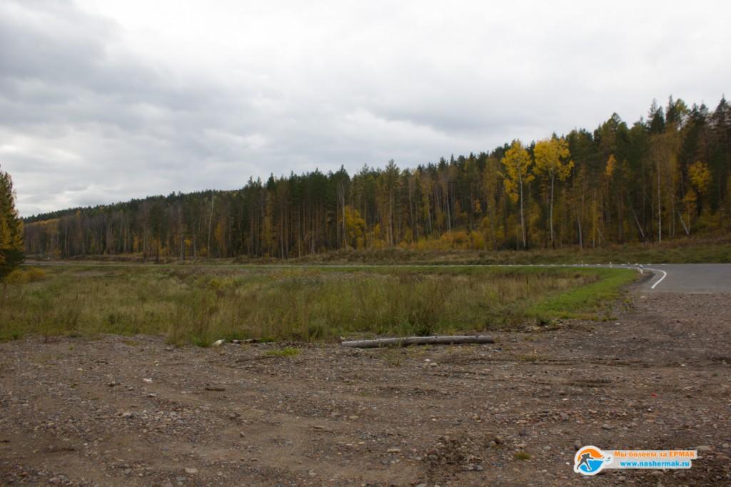 Въезд в Красноярский край