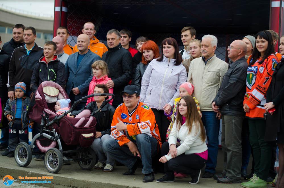 открытие остановки в Ангарске
