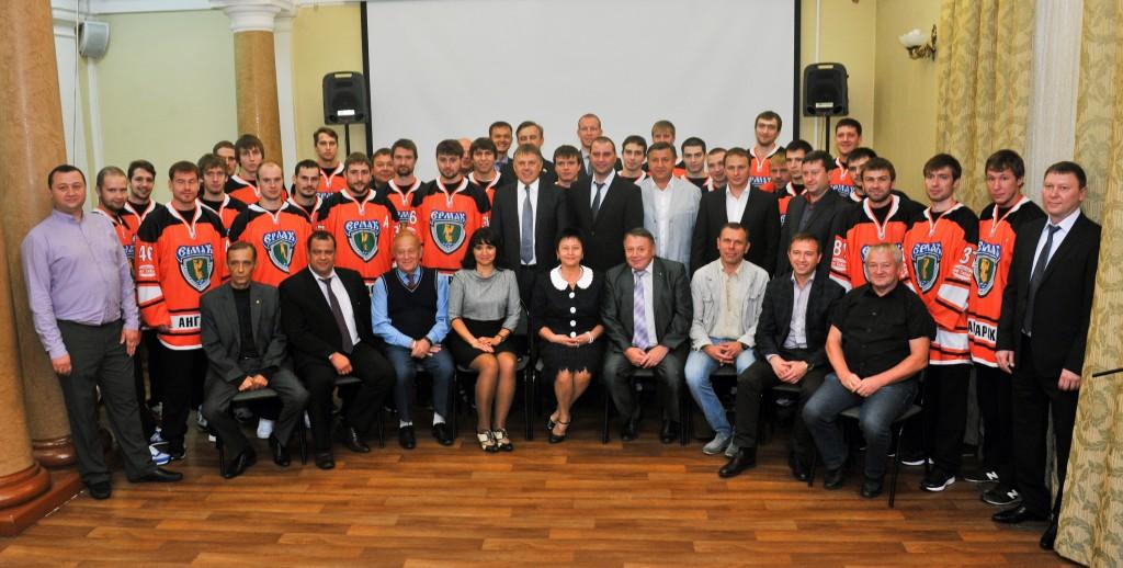 Хоккеисты «Ермака» встретились с руководством города