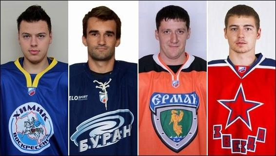 Максим Юшков лучший нападающий недели