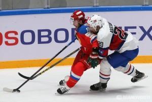 Сборная России по хоккею в матче Еврочелленджа победила норвежцев