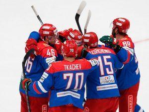 Сборная России разгромила словаков со счетом 6:0