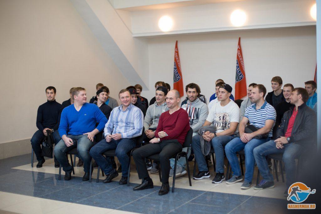 Встреча команды Ермак с болельщиками