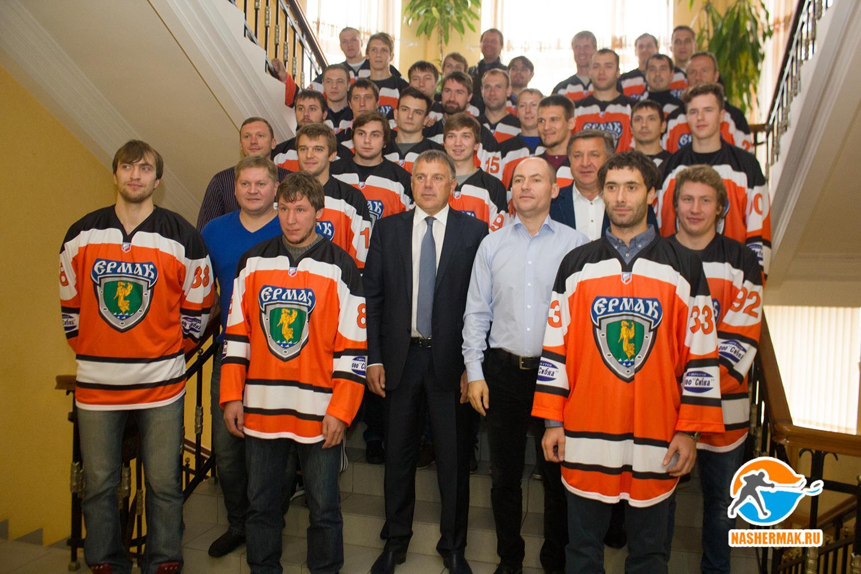 «Ермак» на встрече с депутатами и руководством города