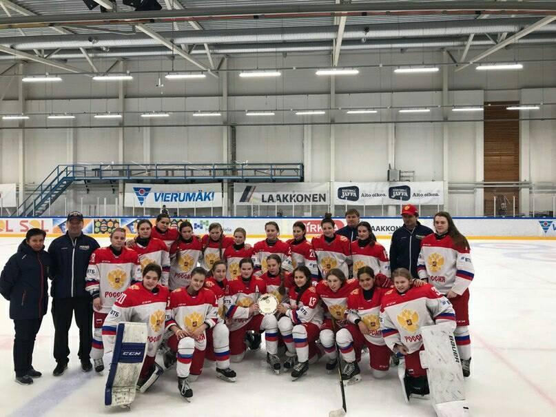 Женская юниорская сборная России