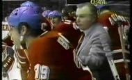 Как мы с другом ходили на хоккейный матч СССР-Чехословакия, встретили там Брежнева и убегали от милиции