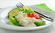 С чем полезно есть творог на ужин при похудении?