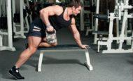 Как правильно поднимать гирю, чтобы не травмировать спину и какие упражнения делать?