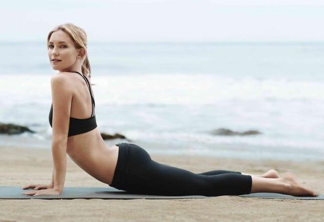 Кейт Хадсон и её 4 любмых упражнения в пилатесе. Ваши ягодицы и пресс будут самыми подтянутыми!